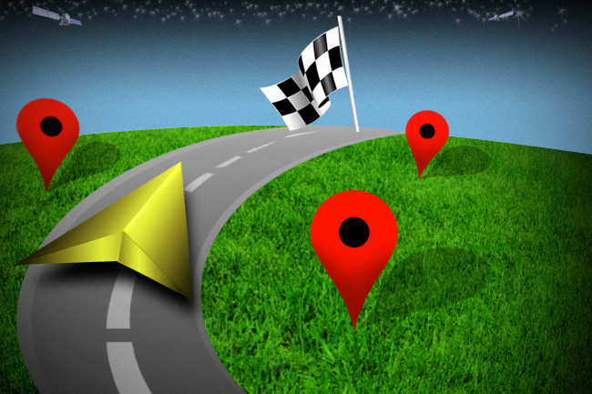Draw On GPS Map, Share, Navigate